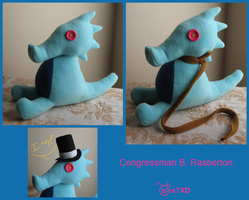 Congressman B. Rasberton by Fox7XD