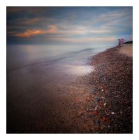 Evening on the Baltic Sea by anoxado