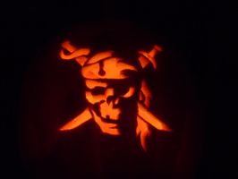 Pirates o.t. Caribbean pumkin by GTracerRens