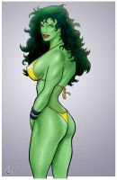 She-hulk - a look back by yatz