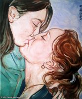 The L kiss by Fabsand2
