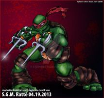 TMNT - :Raph and His Sai: by StephRatte