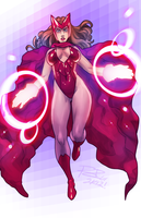 Scarlet Witch by robaato by singory