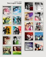 Icons with Twilight-saga: 1 by eternalmoon87