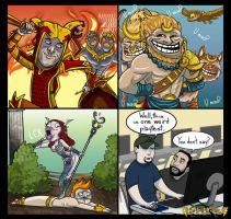 3 Smite Comic by BehindtheVeil