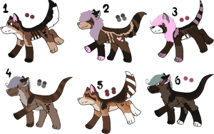 Kydro x Shae Litter - Closed by KittehzAdopts