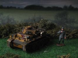Scouting Panzer 1 Ausf. C by Baryonyx62