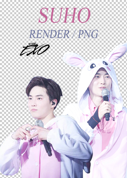 EXO - Suho // Render // Pack PNG by EXOEDITIONS