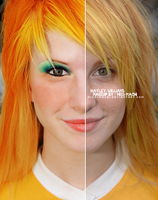 Hayley Williams makeup 3 by Miss-Machi