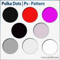 Polka Dot Patterns by alinema