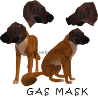 Free Gas Mask item by WulfTheWolf