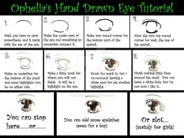 Hand Drawn Eye Tutorial by winterwolf246