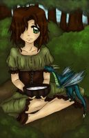 Maud and the Wyvern by Kira-Rinta