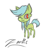 Sketch: Zambie by ImTheDoctorWhovian