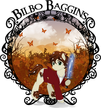 Bilbo Baggins Pony Version by YukiAdoptablesPonies