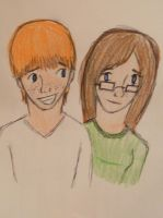 Carter and CJ doodle by allison767