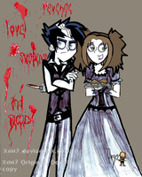 Danny n Km as Swenney n Lovett by Haoiki