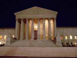 The Supreme Court ... at night by Mercedesm1