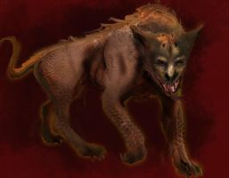 Hell hound concept by kaber13