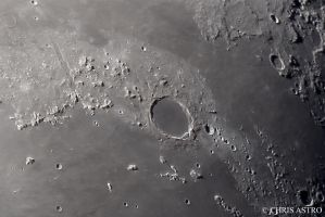 Plato Crater by ChrisAstro101