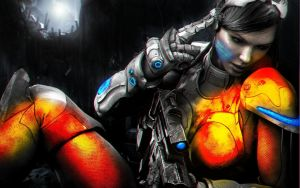 Starcraft 2 (Kerrigan) BF3 Inspired by Predator828