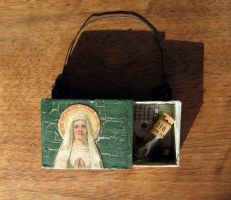 Assemblage: Reliquary by bugatha1