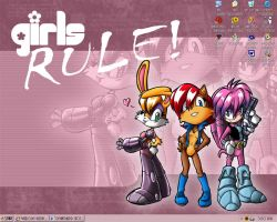 Girls RULE desktop by Ann-Chovi