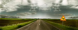 Road to somewhere by jufinnil