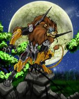 Beast Wars Steeljaw by Sieberwolf