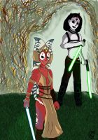 Master and Padawan: Shaak Ti and Maris Brood by Giorgia99