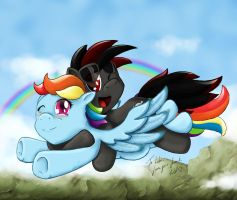 Koroshi-Ya and Rainbow by Slinkycraft