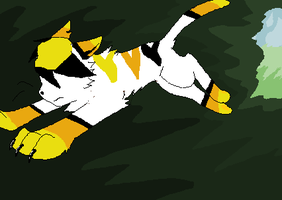 Sunstripes Exile by TheSlendermanIsHere