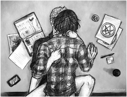 Sam and Dean ~ Research by fromthatedge