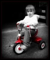 My Tricycle by marlenarnewcomb