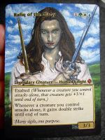 Magic Card Alteration: Rafiq of the Many 10-31 by Ondal-the-Fool