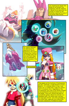 Megaman ZX Issue 1: Page 10 by RadzHedgehog