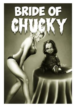 Bride of Chucky by rafael-gallo