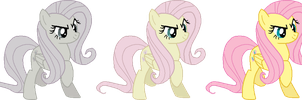 Discorded Fluttershy trace by AdolfWolfed4Life