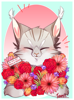 Be Mine It's Meow Or Never - HAPPY VALENTINE'S DAY by tunasoba