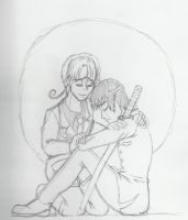 Hetalia: Pray for Japan sketch by KiaraLPhoenix