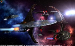 Happy 47th B'Day Star Trek by Euderion