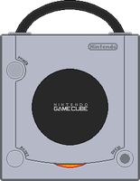 Nintendo Gamecube [Top] Platinum by BLUEamnesiac