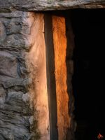 Illuminated Stable Door by MODDEYDOO