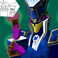 Yu-Gi-Oh's Judgeman...? by N2-0Night