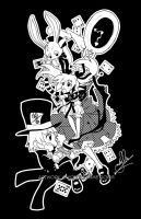 Alice in Wonderland by YoukaiYume