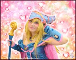 Hearts and bubbles -Dark Magician Girl Cosplay by 20Tourniquet02