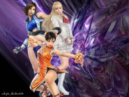 Tekken Girls by whyteshadow004
