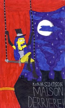 Marge Simpson: Maison Derriere by TheDramaticMonarch