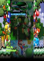 Yoshi Background for the BlueNinjaYoshi by GreenHavocKirby