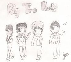 Big Time Chibis by sclirada